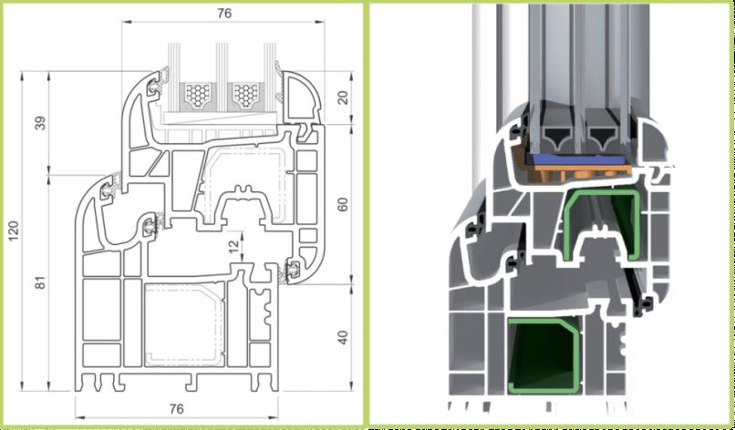 Схема профиля Salamander Design 3D