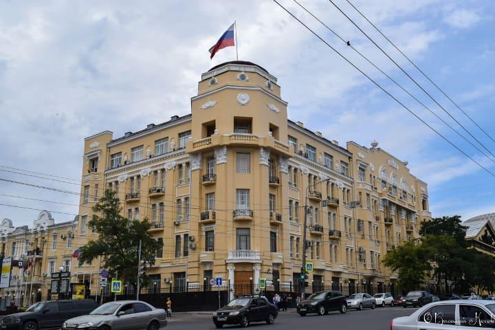 Штаб Северокавказского военного округа (Ростов-на-Дону).